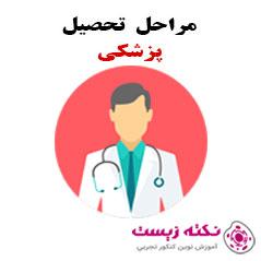مراحل تحصیل رشته پزشکی